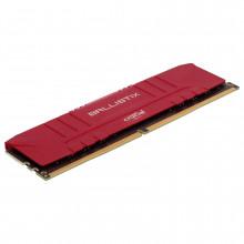 Ballistix Red 16 Go (2 x 8 Go) DDR4 3600 MHz CL16