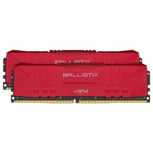 Ballistix Red 16 Go (2 x 8 Go) DDR4 3600 MHz CL16