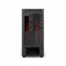NZXT SMART H700i Noir Mat/Rouge ATX + Fen CA-H700W-BR