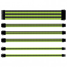 Cooler Master Sleeved Extension Cable Kit Noir/Vert