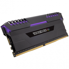 DDR4 3466 16Go 2x8G CORSAIR CMR16GX4M2C3466C16 Vengeance RGB